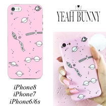 YEAH BUNNY☆iPhoneケース SPACE 宇宙 ピンク