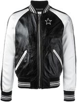 【関税負担】 GIVENCHY MONOCHROME BOMBER JACKET