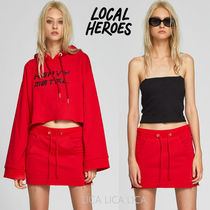 国内発送 Local Heroes HEARTCORE JERSEY SKIRT