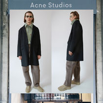 【17AW NEW】 Acne Studios_men/Matthew black/コートBK