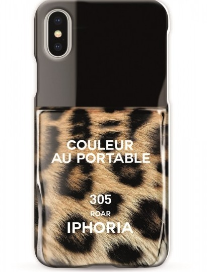 IPHORIA☆Case for Apple iPhone X  Nailpolish Roar