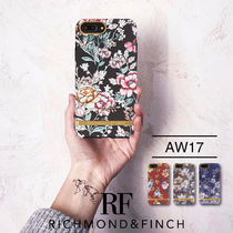 17AW iPhone8/7/6/6s PLUS RICHMOND&FINCH♡ 花柄 チェック