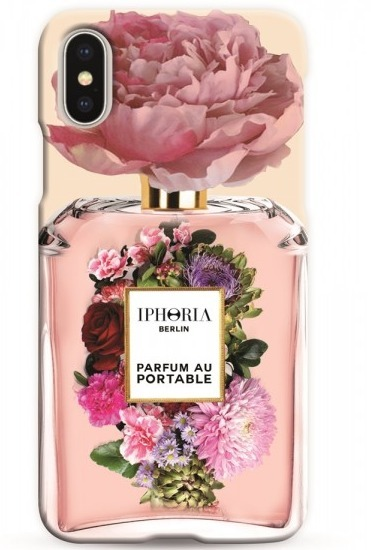IPHORIA☆ Case for Apple iPhone X - Perfume Flower Bouquet