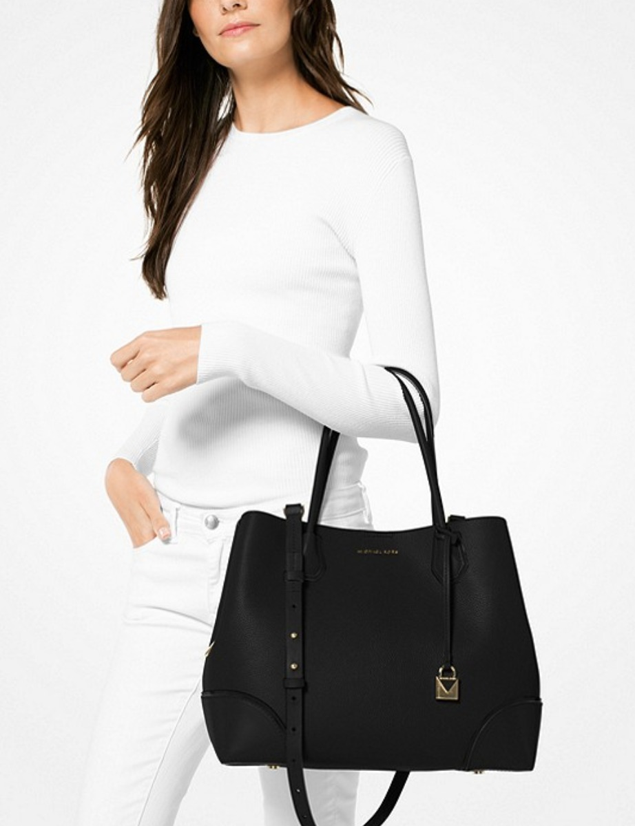 Michael Kors/Mercer Large Leather Tote