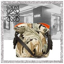 新作【LOEWE】Flamenco Knot Camo Bag Green Multitone