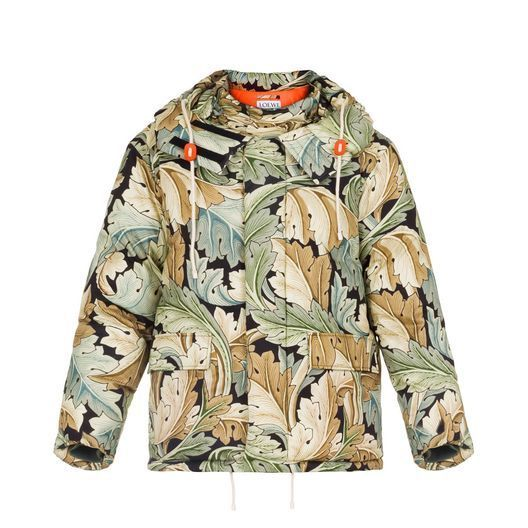 新作【LOEWE】Parka William Morris Multicolour