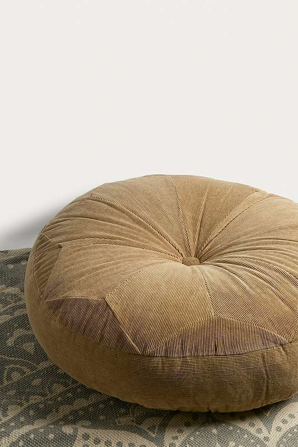 Urban Outfitters☆Corduroy Pouf Cushion☆税関送料込