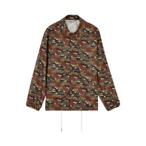 取寄★MAISON KITSUNE 17AW ALL-OVER CAMO FOX WINDBREAKER SML