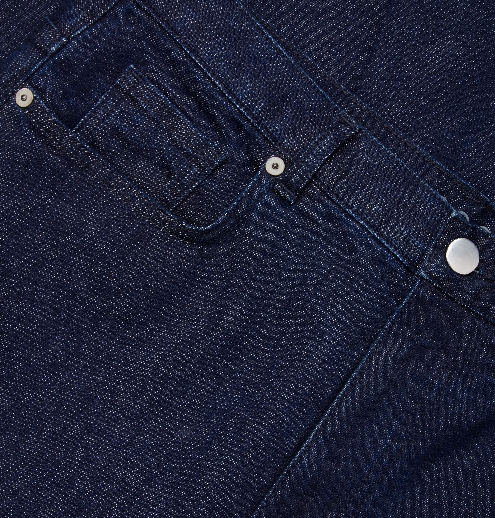 """""""COS""""RELAXED WIDE-LEG JEANS NAVY"""