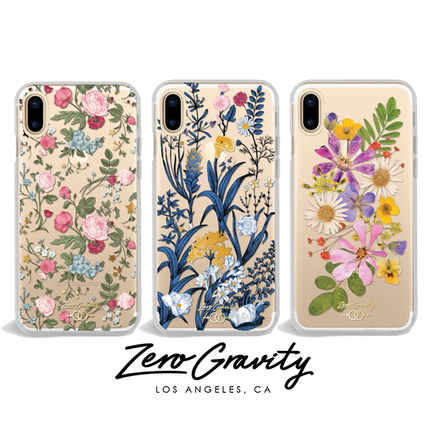 【Zero Gravity】iPhone Xケース☆花柄デザイン