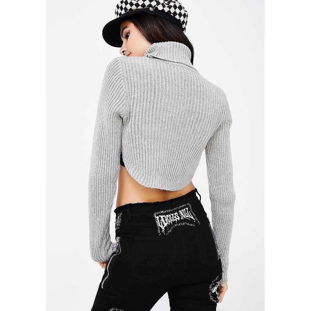 ★SHORT CROPPED SWEATER