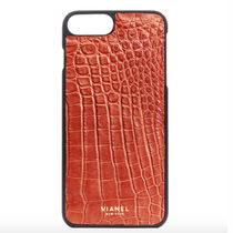 ★Ron Herman★iPhone7 and 8 Plus VIANEL Alligator★BROWN