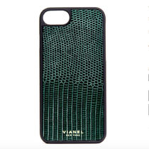 ★Ron Herman★iPhone7 and 8 Plus VIANEL Lizard★FOREST GREEN