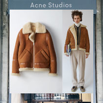 【17AW NEW】 Acne Studios_men/Ian suede tan brown/ジャケット