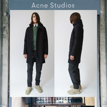 【17AW NEW】 Acne Studios_men/Milton black/コートBK