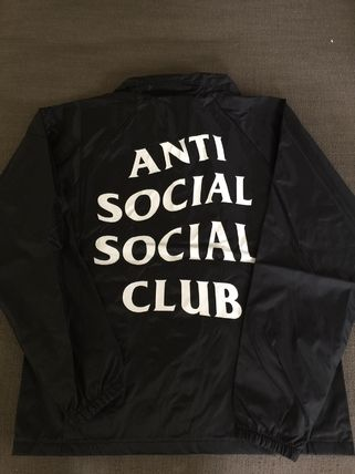 ANTI SOCIAL SOCIAL CLUB ジャケットその他 入手困難![ASSC] Never gonna give you up コーチジャケット(3)