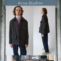 【17AW NEW】 Acne Studios_men/Melbin antracite/ジャケットGY