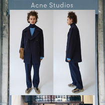 【17AW NEW】 Acne Studios_men/Murray navy/ピーコートNV