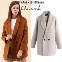 国内発・送料関税込☆Chicwish☆Dandy My Style Wool-Blend Coat