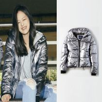 American Eagle Outfitters(アメリカンイーグル) ダウンジャケット・コート [American Eagle Outfitters] [Women] 2426 Metallic puffer