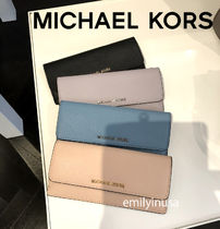 Michael Kors★12月新色☆JET SET TRAVEL 薄型長財布 日本札OK