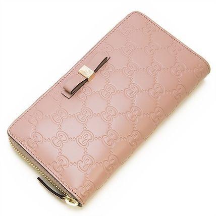 official photos fa696 7c20c 【GUCCI】財布☆BOWY Light Pink★2016春夏新作♪