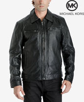 Michael Kors Men's Leather Jacket マイケルコース レザー