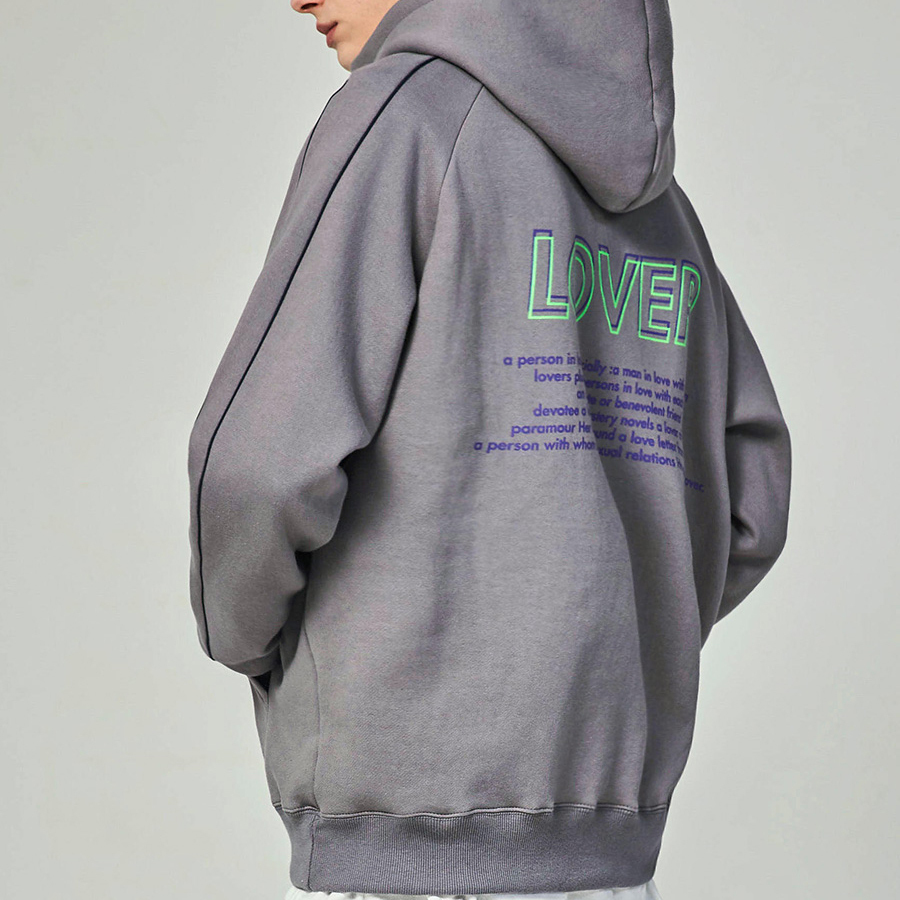 【ACOVER】UNEASY LOVER フーディ(2 color) - UNISEX