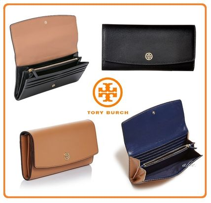 【 2017AW VIPSALE!!】Tory Burch★PARKER  バイカラー長財布