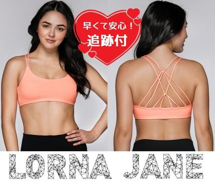 Lorna Jane フィットネストップス ★追跡有【Lorna Jane】Sand Sprint Sports Bra★