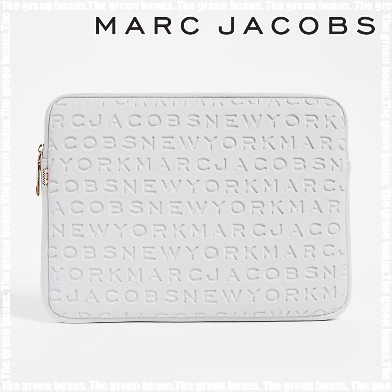 送料無料 MARC JACOBS PCケース 13インチ Light Grey