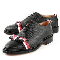 THOM BROWNE 17AW PEBBLE GRAIN 3LINE BOW LACE-UP シューズ