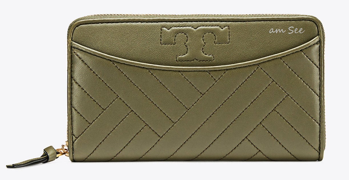 SALE【2017-18AW】TORY BURCH ALEXA 長財布 banana leaf