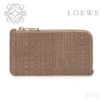 LOEWE★ロエベ Coin/Card Holder Dark Taupe