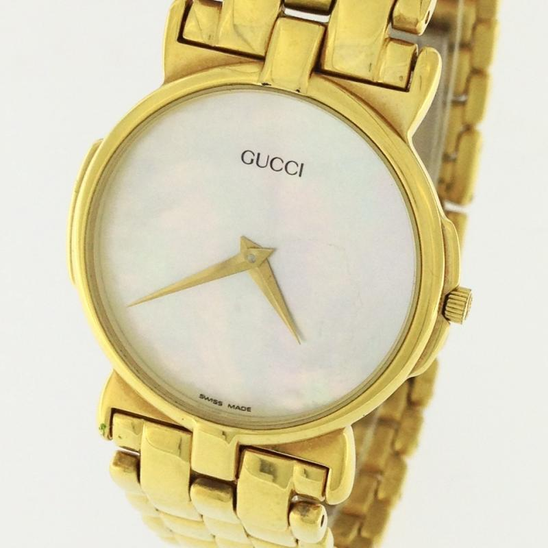 【GUCCI】グッチ レディース腕時計 30mm GOLD PLATED