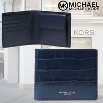 Michael Kors★Virgo Leather Billfold Walletレザー2つ折り財布