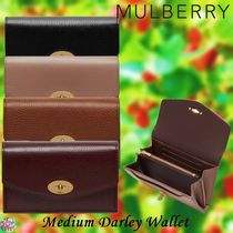 Mulberry☆Medium Darley Wallet 実用的!ミディアムサイズ