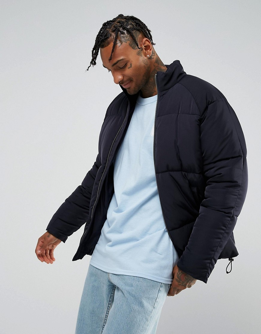 ○送料込○ASOS Puffer Jacket in Navy