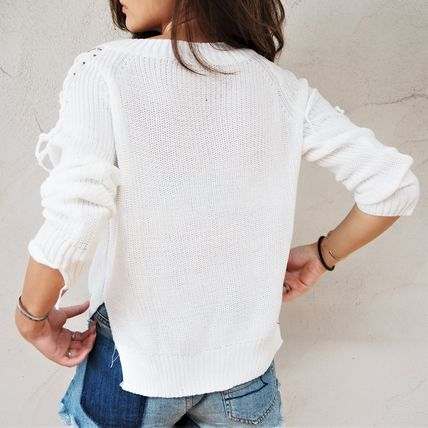 ニット・セーター 【即発】Shoulder Point Knit《WHITE》(5)