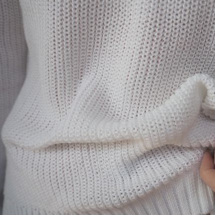 ニット・セーター 【即発】Shoulder Point Knit《WHITE》(10)