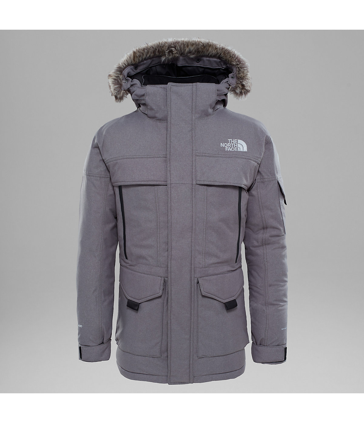 【17AW NEW】 THE NORTH FACE_men / MCMURDO 2 パーカーGY/NV