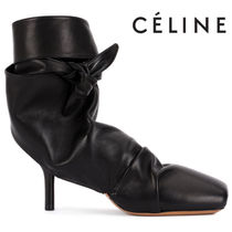 【18SS】大注目!!★CELINE★wrapped backless ankle boots
