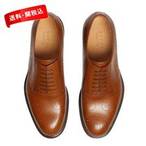 *GUCCI*Leather bee brogue lace up【関税/送料込】