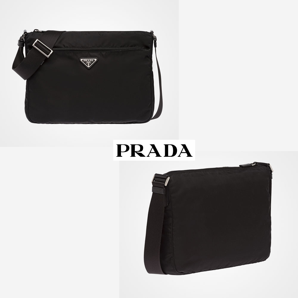 国内発関税込 2017-18AW PRADA Fabric Shoulder Bag