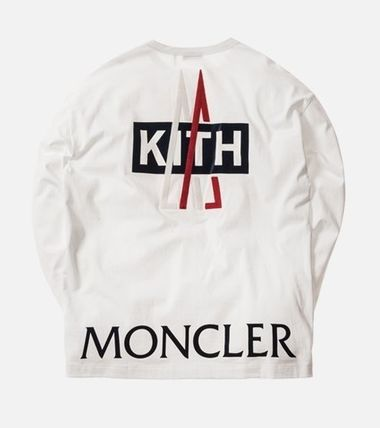 MONCLER Tシャツ・カットソー 入手困難 KITH X MONCLER Longsleeves T-Shirt(2)