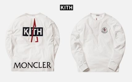 MONCLER Tシャツ・カットソー 入手困難 KITH X MONCLER Longsleeves T-Shirt