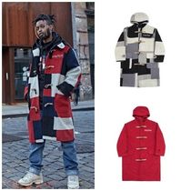 I AM NOT A HUMAN BEING(ヒューマンビーイング) ダッフルコート I AM NOT A HUMAN BEINGの[17W] Patch Work Duffle Coat 全3色