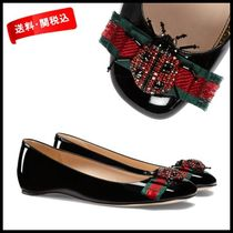 *GUCCI*Patent leather ballet flat【関税/送料込】