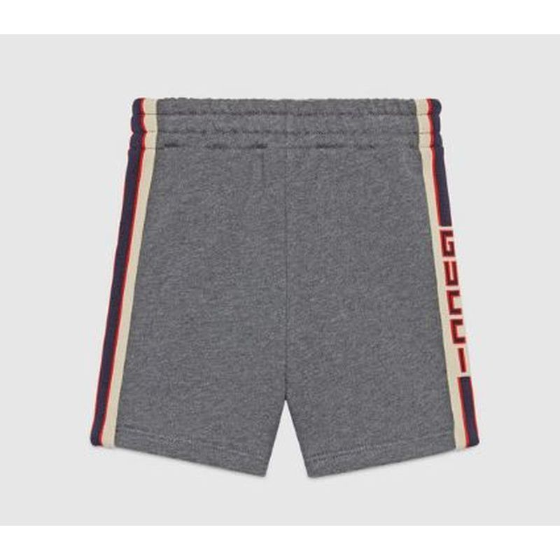 【GUCCI(グッチ)】 Baby short with Gucci jacquard trim