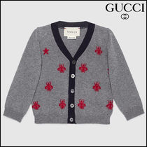 【GUCCI(グッチ)】 Baby wool bees and stars cardigan